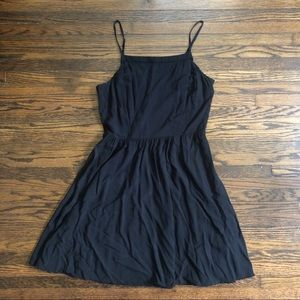Flattering little black dress